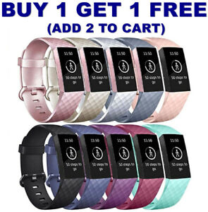 For-Fitbit-Charge-3-Watch-Band-Replacement-Silicone-Bracelet-Wrist-Strap-Straps
