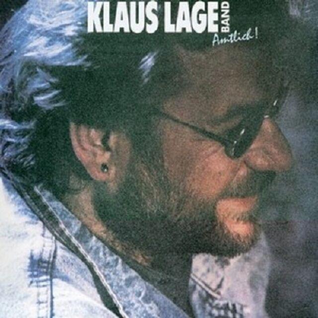 "KLAUS LAGE BAND ""AMTLICH!"" CD NEUWARE"