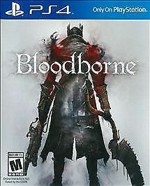 Bloodborne PlayStation 4 -PS4 Original, Factory Sealed Brand New