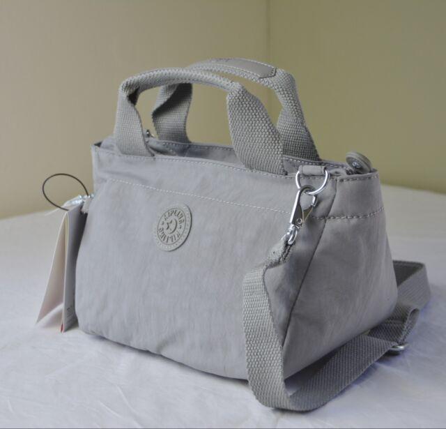 Kipling Hb6608 Silver Grey Sugar Ii Small Handbag Crossbody