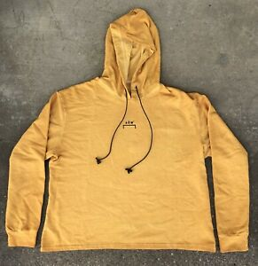 3cb0ced0 A Cold Wall ACW Yellow Hoodie Size XL - Ships Immediately   eBay