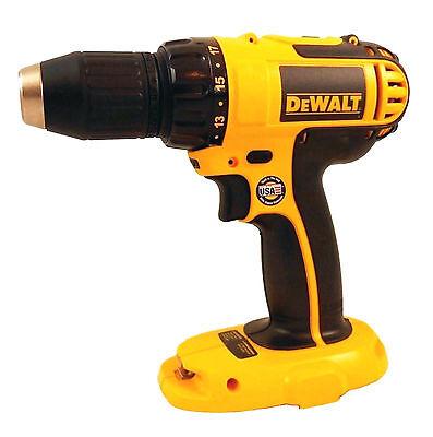New Dewalt 18 Volt Cordless Drill Driver Bare Tool Model # DC720