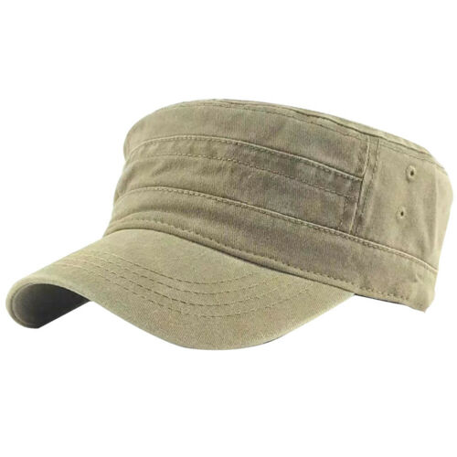 Denim Flat Top Cap Women Men Snapback Cap Hat Cadet Cap Fine FM/_ HK