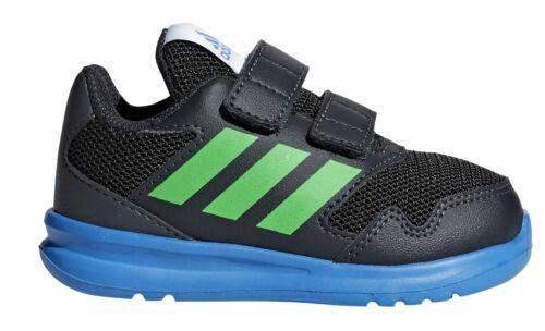 adidas Performance Kleinkinder Kinder Sport Schuh AltaRun CF I schwarz blau grün