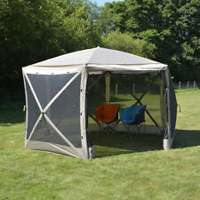 LARGE POP UP SCREEN HOUSE HEX SHELTER TENT sun shield event festival UV50