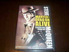 WANTED DEAD OR ALIVE Steve McQueen Classic TV Series Season One V. 1 DVD Set NEW