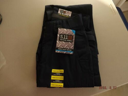 NWT 5.11 Women/'s Tactical EMS Pants Size 4 Waist Regular Inseam 64369 Dark Navy