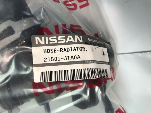 NISSAN 215013TA0A GENUINE OEM UPPER HOSE