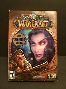 World of Warcraft Blizzard Entertainment PC Video Game DVD