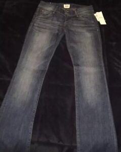 4adab7d0387 Hudson Jeans Womens Signature Boot Cut Mid-rise Flap Pockets Size 25 ...