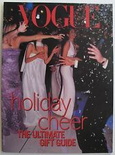1999 VOGUE HOLIDAY CHEER SUPPLEMENT Kate Moss  Gisele Bundchen