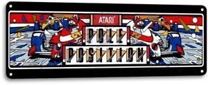 Pole-Position-Classic-Atari-Arcade-Marquee-Game-Room-Wall-Decor-Metal-Tin-Sign