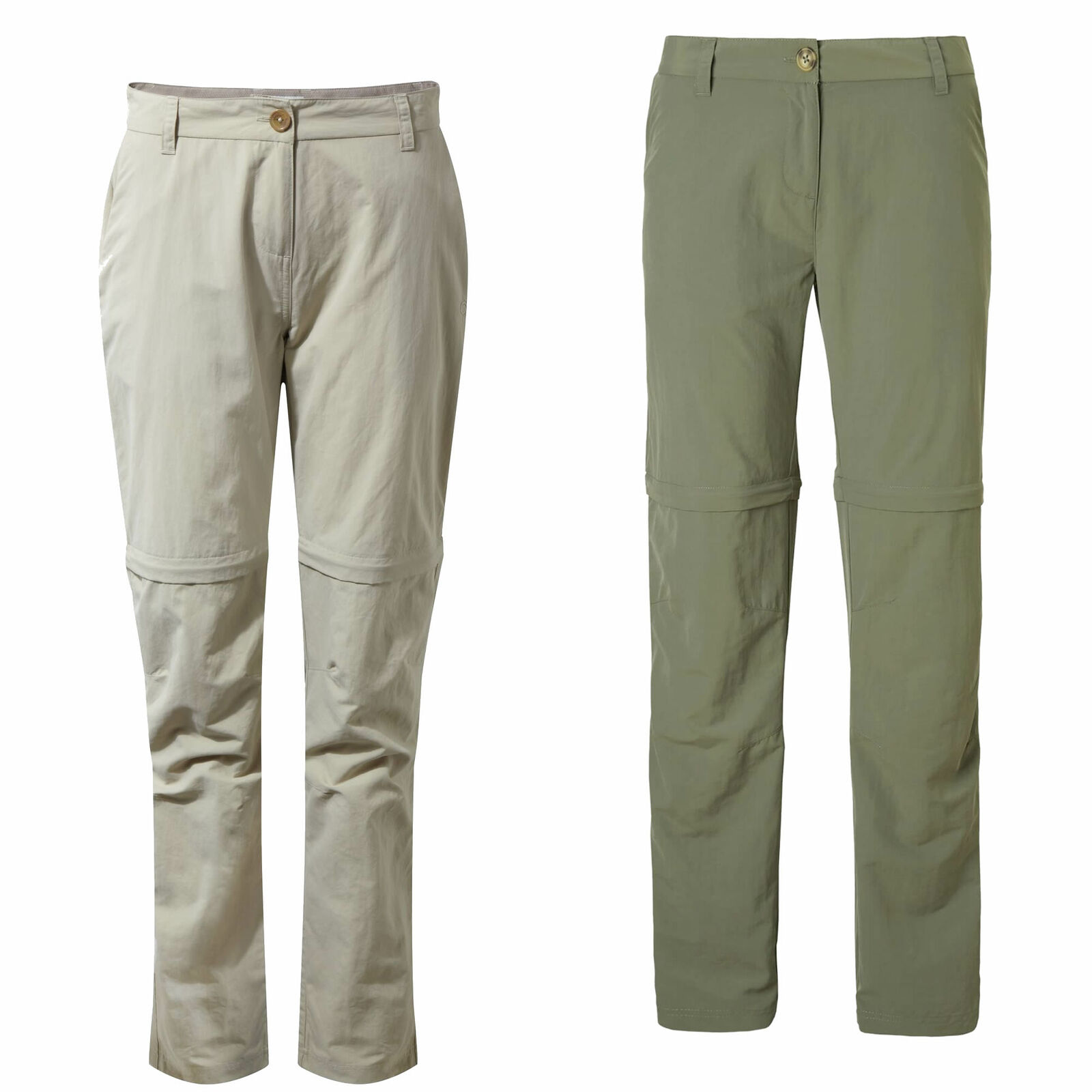 Craghoppers NosiLife III Congreenible Womens Trousers Insect Repellent Travel