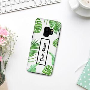 Handyhülle Samsung Galaxy S9, Palmen-Design