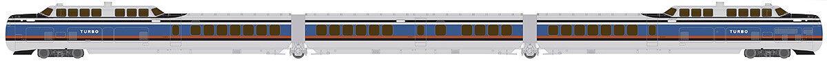 orden ahora con gran descuento y entrega gratuita Rapido 520502, escala N, turbotrén, Penn Penn Penn Central US DOT, equipado con DCC y Sonido  calidad auténtica