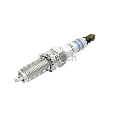 Bosch Set de 4 Double Iridium Spark Plugs 0242140515-Genuine-Garantie 5 an