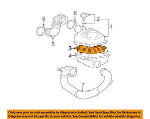 image is loading pontiac-gm-oem-03-08-vibe-engine-air-