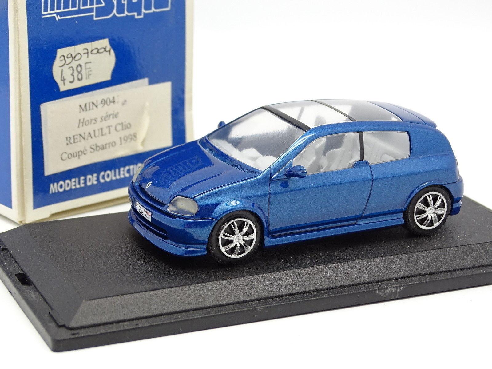 Ministyle resina 1   43 - konzept renault clio coup é sbarro 1998