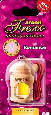 2x Originale Areon Fresco Profumo Per Auto Albero Profumato Deodoranti Romance Aroma Fragrante
