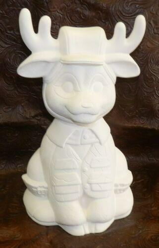 Camoflouge Deer Hunter *Ceramic Bisque Ready to Paint