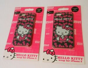 2-New-Sealed-HELLO-KITTY-Covers-for-iPhone-5
