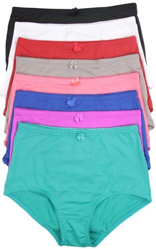 ToBeInStyle Women/'s Pack of 6 High-Rise Girdle Panties