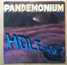 PANDEMONIUM LP: HOLE IN THE SKY (NETHERLANDS; Roadrunner Records – RR 9727)