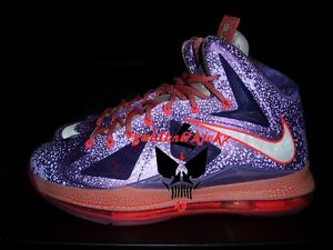 NIKE lebron X 10 nba all star game area 72 Extraterrestrial galaxy ... a89820589