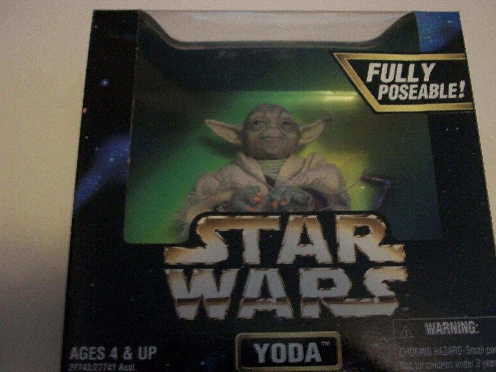 Guerre stellari Yoda cifra Kenner 1997 NRFB