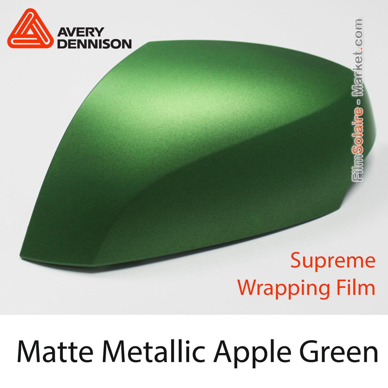 Mate Metálico Apple verde, Avery Dennison Supreme Vinil Lámina, As8970001