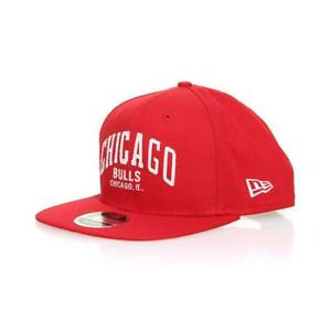 New Era Chicago Bulls Felt Script Snapback Cap Red New Era Casual ... 6f06b6577d40