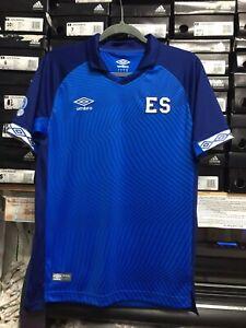 e83022989 Umbro El Salvador Jersey 2019 Camiseta De El Salvador Nueva Size ...
