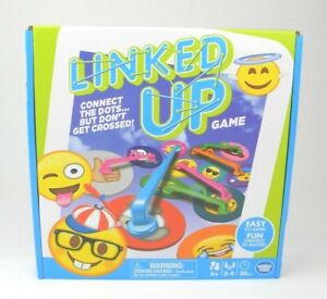 Linked-Up-Board-Game-w-Expressive-Emojis-Wonder-Forge-Ages-6-2-4-Players-New