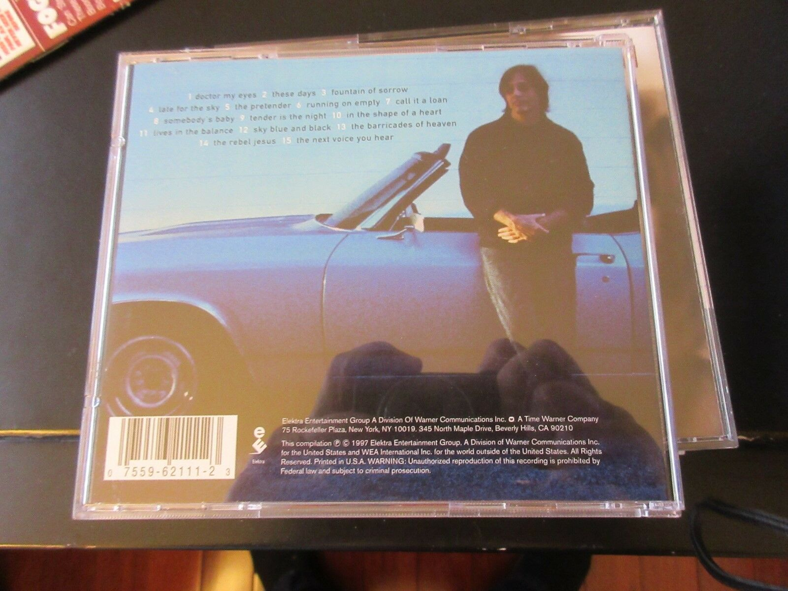 Jackson Browne , The Best Of , CD