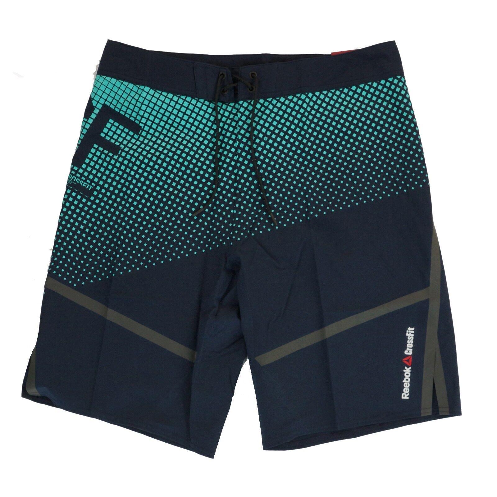 Reebok Men's CrossFit Intensify ii Training (Navy bluee) Shorts Z90423