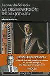 La desaparicion de Mejorana (Coleccion Andanzas) (Spanish Edition)-ExLibrary