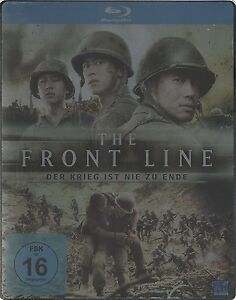 Steelbook-The-Front-Line-der-GUERRA-IST-Nie-ZU-Ende-Korea-Blu-ray-NUEVO-fontline