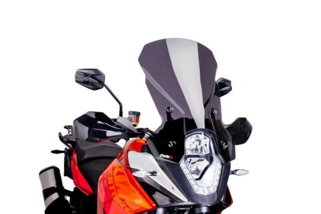 PUIG WINDSHIELD TOURING KTM 1190 R ADVENTURE 13-16 DARK SMOKE