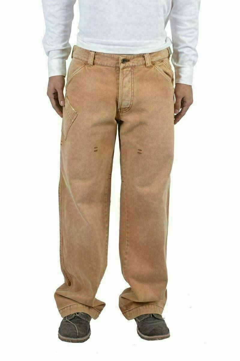 Armani Jeans Light Brown Carpenter Relaxed Jeans US 34 IT 50