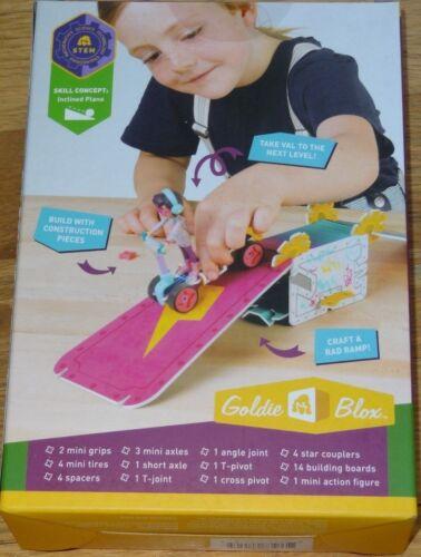 Level-Up Skate Park construction building toy GoldieBlox Valentina Viltz MK005