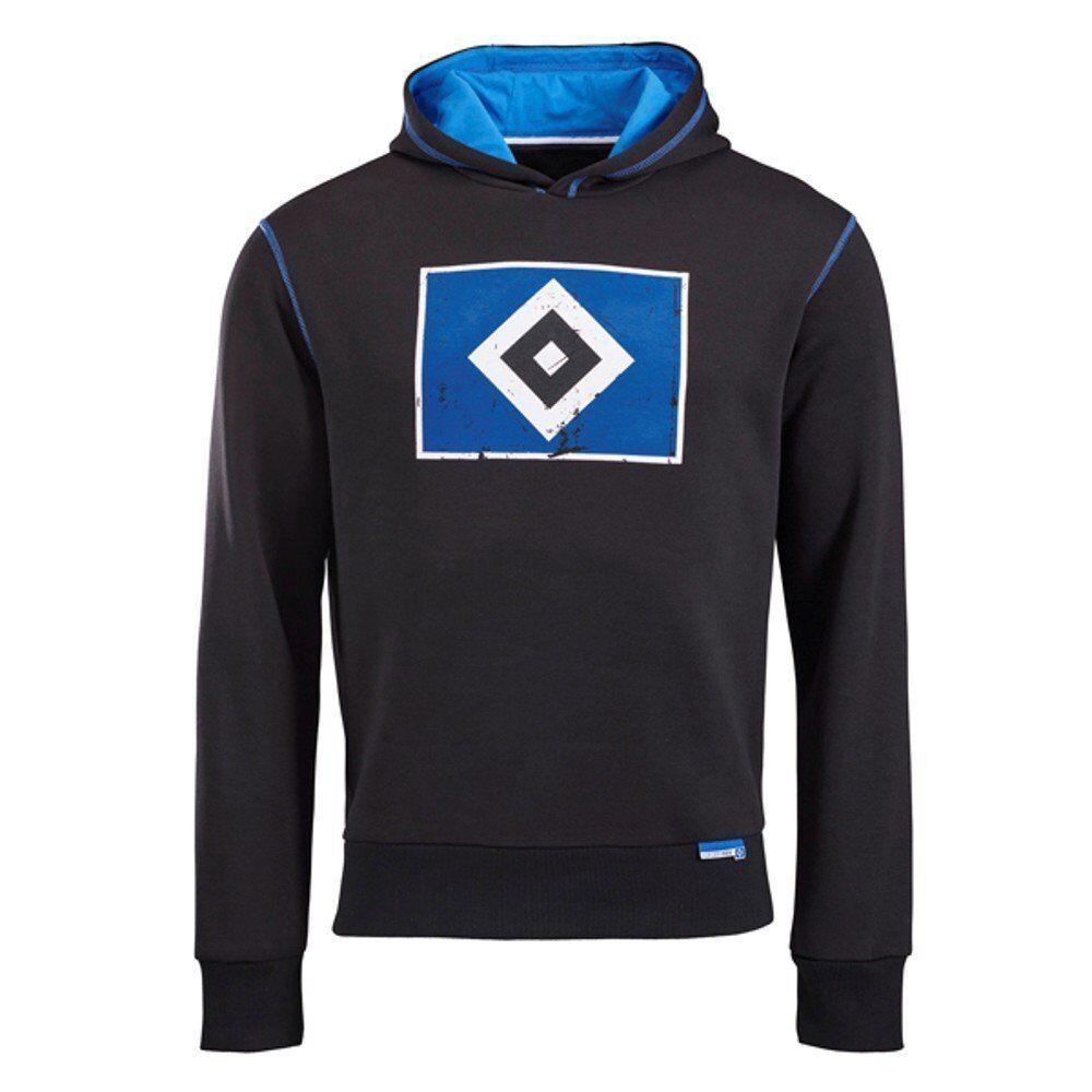 HSV Hamburger Hamburger HSV SV Pullover / Kapuzenpullover / Hoddy  Raute  schwarz 9eb6df