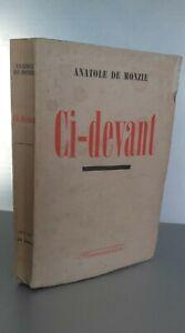 Anatole de Monzie por Encima De Flammarion Pin 1941 París ABE