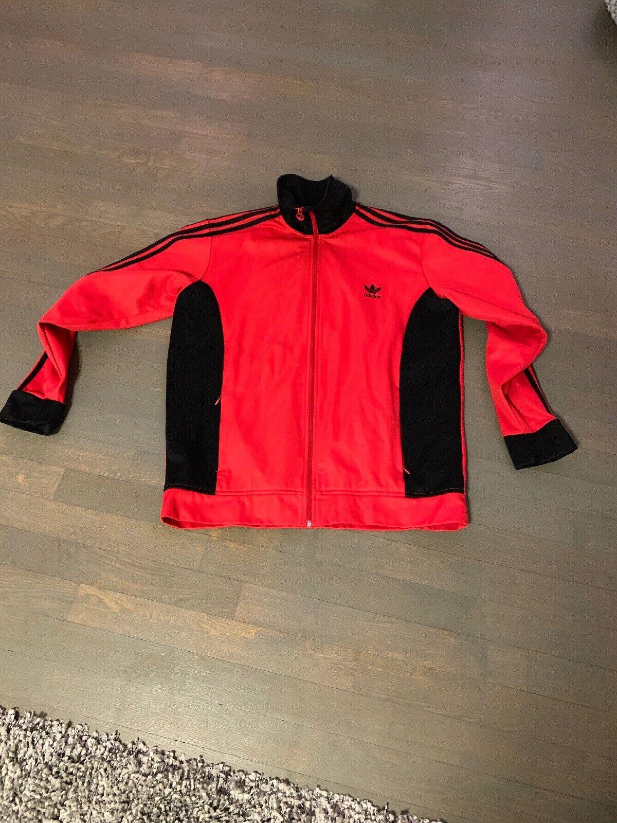 Adidas Originals  Jacke Herren  Rot-schwarz  Grösse 2xl