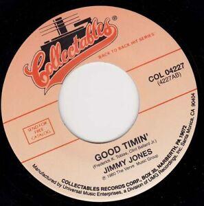 "JIMMY JONES - Good Timin'   7"" 45"