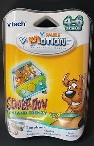 Vtech-V-Smile-Motion-Active-Learning-System-Scooby-Doo-Funland-Frenzy-Teaching