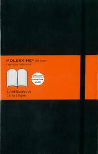 Moleskine Soft Large Ruled Notebook by Moleskine srl (Record book, 2007)