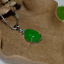 China-handcarved-green-jade-Water-drop-shape-Pendant-necklace thumbnail 1