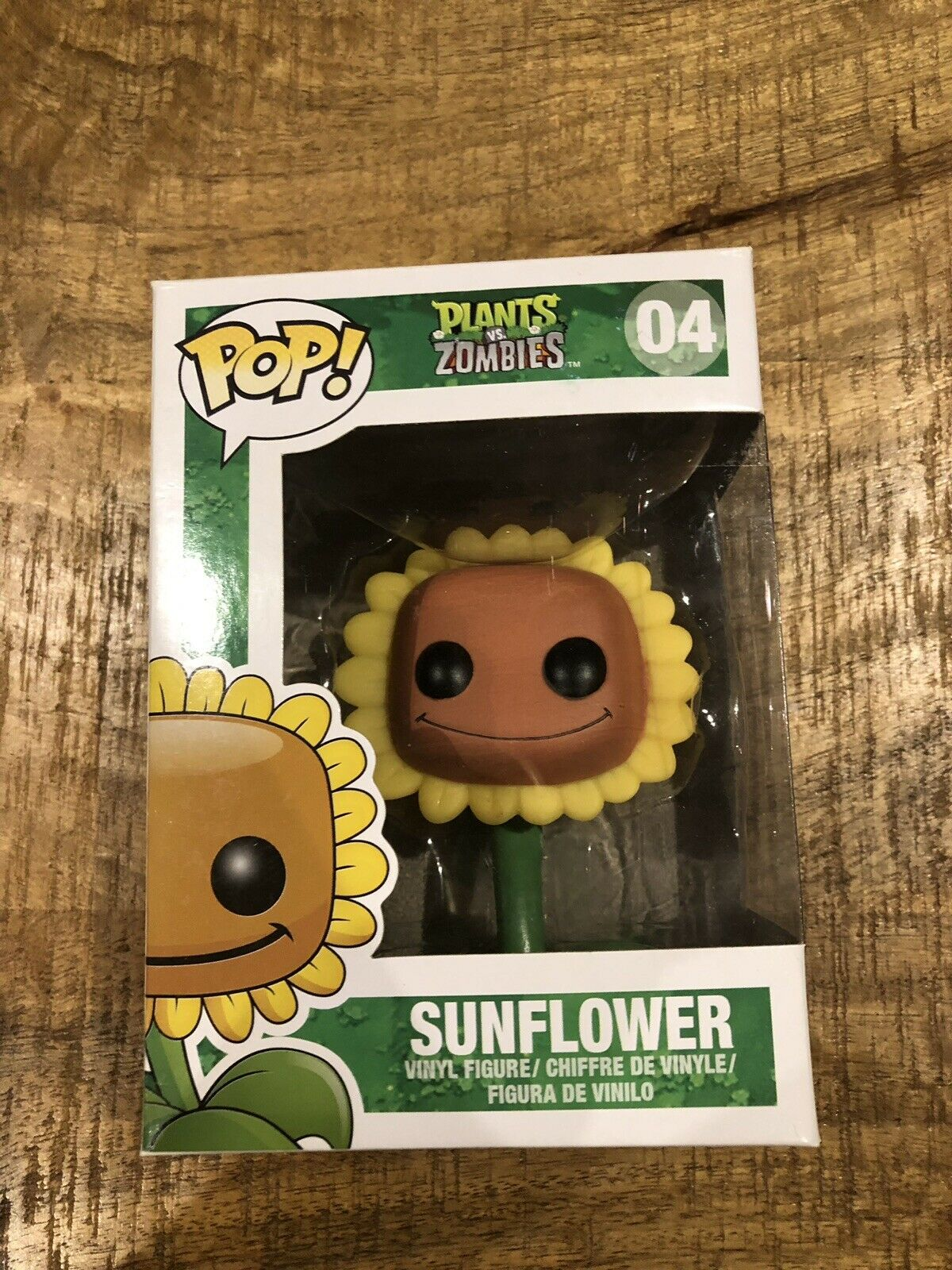 Funko Pop Plants Vs Zombies Sunflower  04