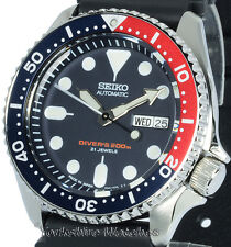 New SEIKO 200M AUTO PRO DIVER WITH Seiko RUBBER BUCKLE STRAP SKX009J1