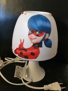 Miraculous Tischlampe Ladybug Lampe Nachtlicht Kinderzimmer Deko Serviette LED